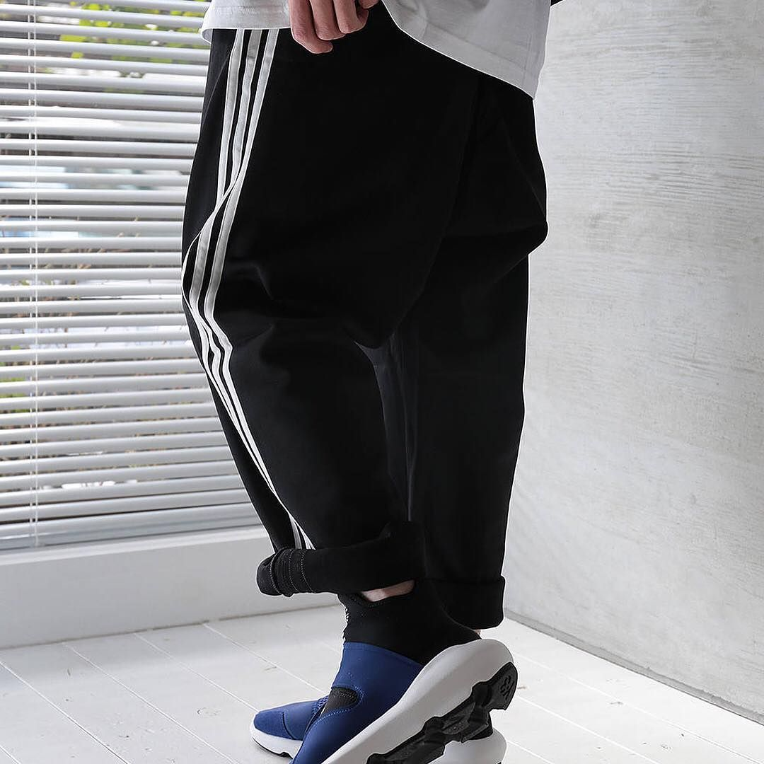507599a08ed Y-3 3-Stripes Wide Pants and Suberou.📸   acacia clothing--- adidas  Y3   YohjiYamamoto  SUBEROU