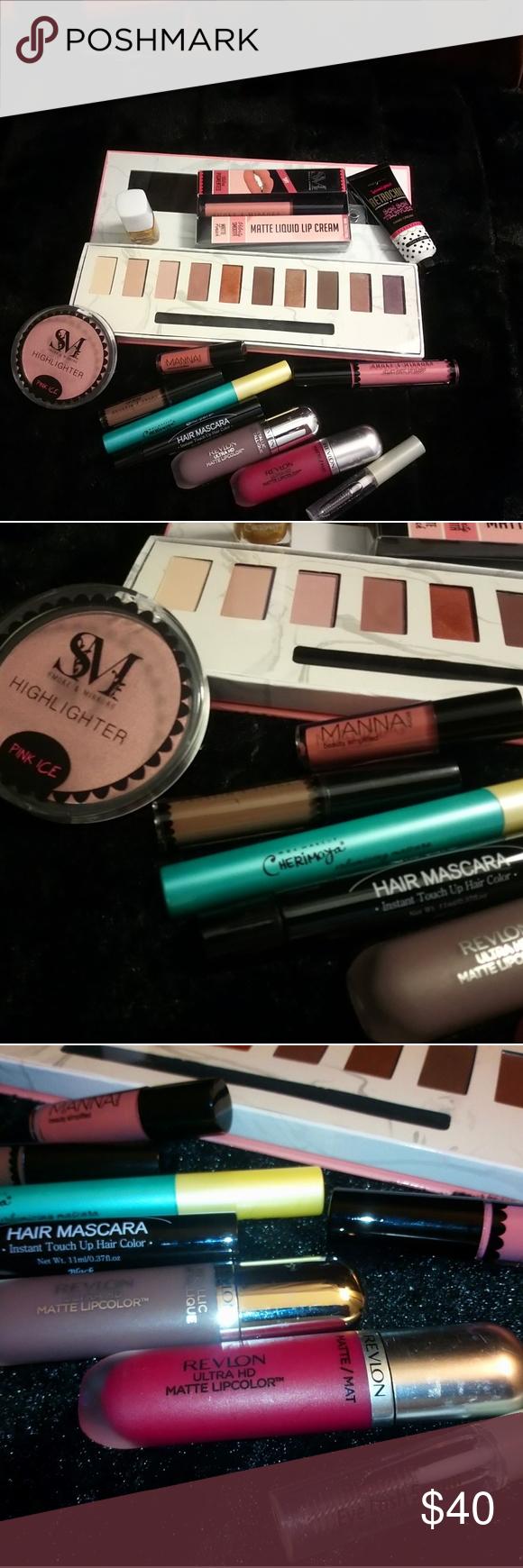 Grab bag makeup Has inside Manna kadar, cherimoya, Revlon