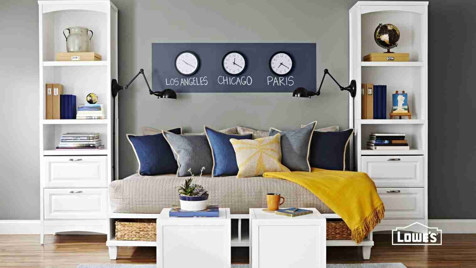 10 Guest Bedroom Storage Ideas Stylish And Stunning Small Guest Bedroom Guest Bedroom Office Guest Bedrooms Small home office spare bedroom ideas