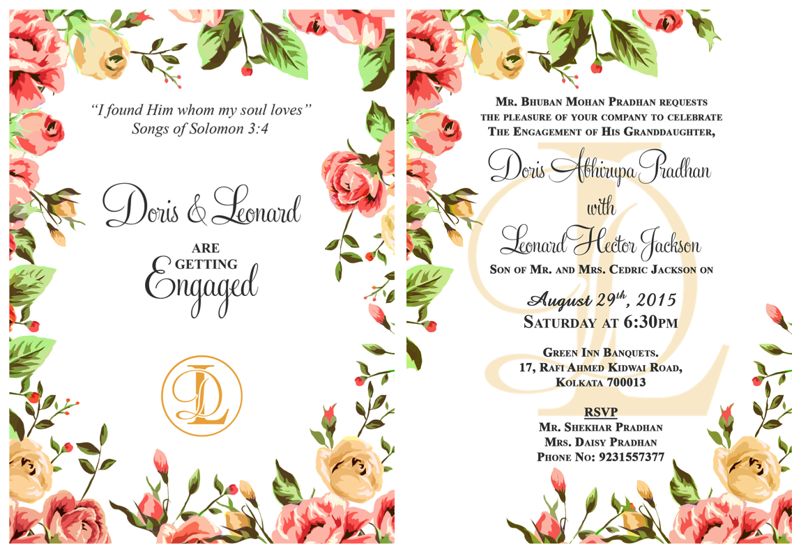 18 Engagement Invitation Message And Wording Examples To Make Your Own Engagement Invitation Card Maker Engagement Invitation Template Engagement Invitations