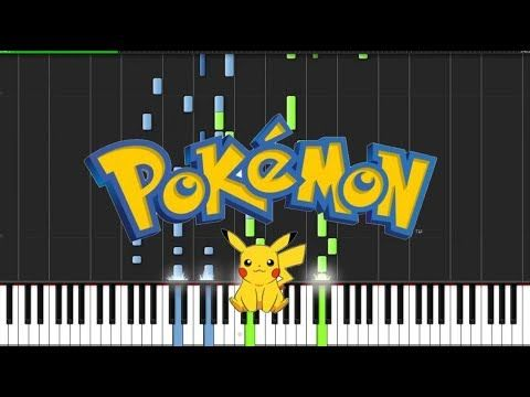 Pokemon Theme Piano Tutorial Chords How To Play Cover