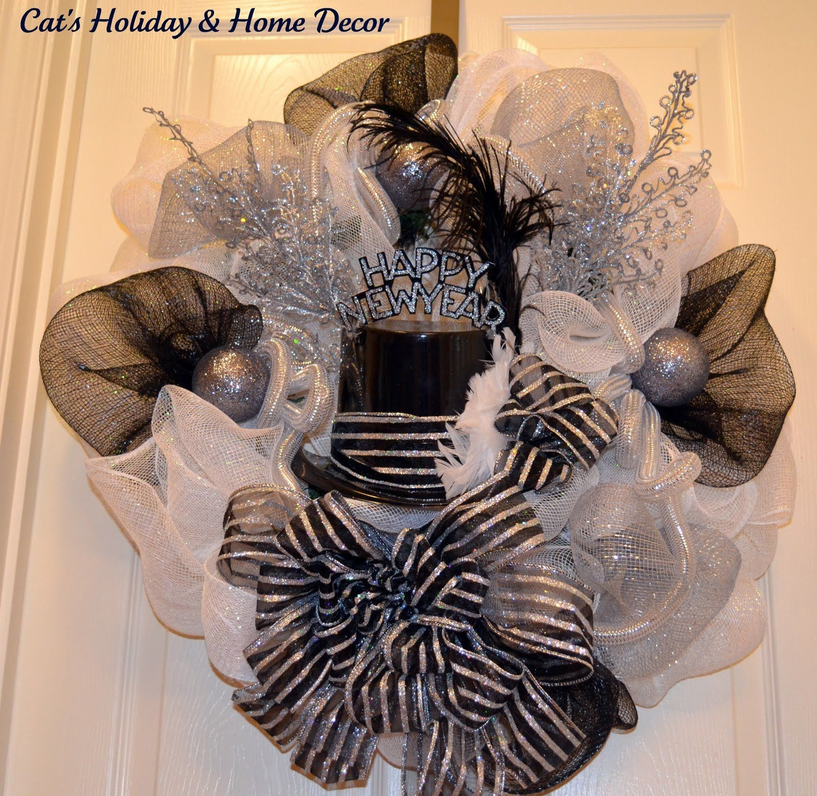 New Year's Eve Wreath idea | Home decor, Decor, Wreaths