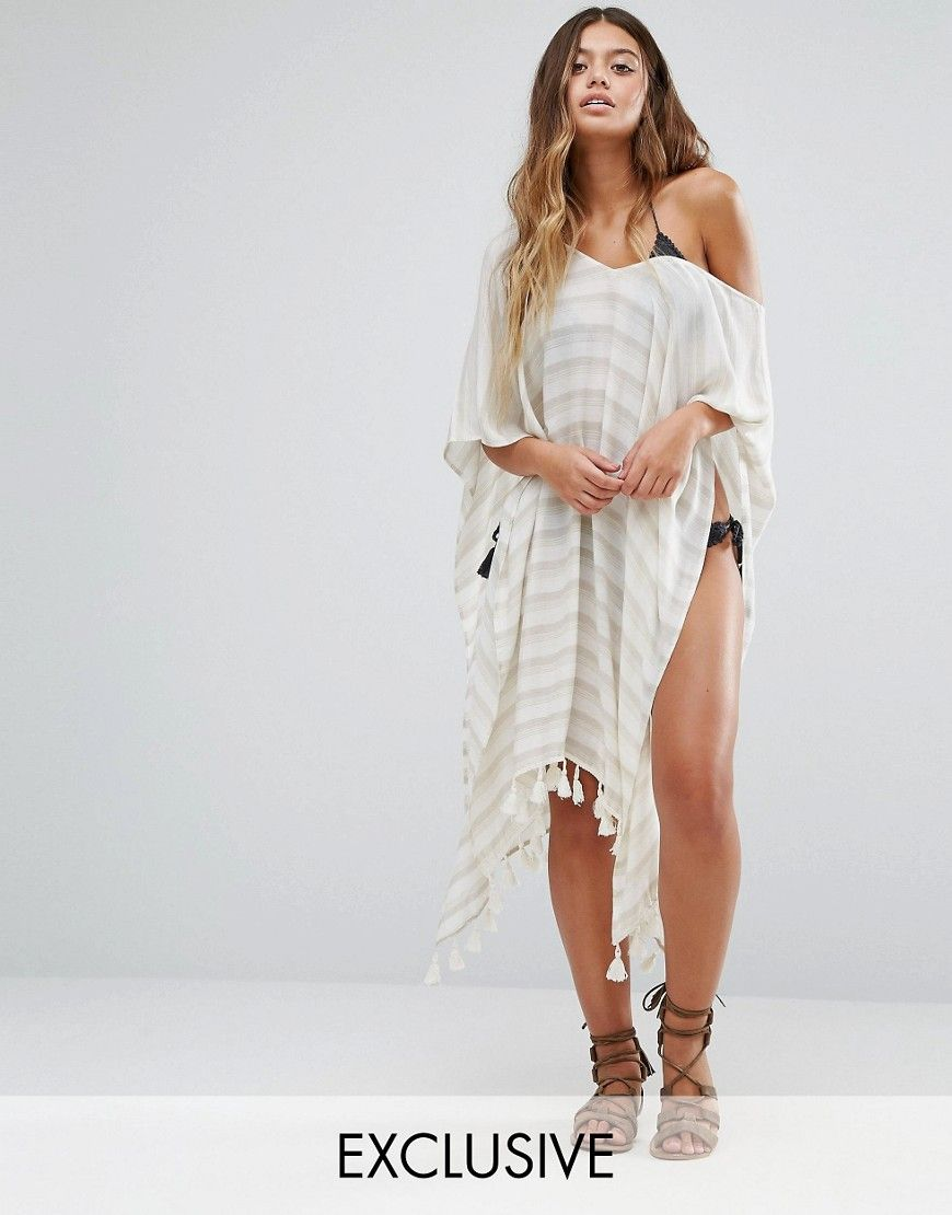 7b5bcb5e9e Akasa Stripe Beach Wrap | IN STORE 'AKASA' @ ASOS.COM | Beach wrap ...