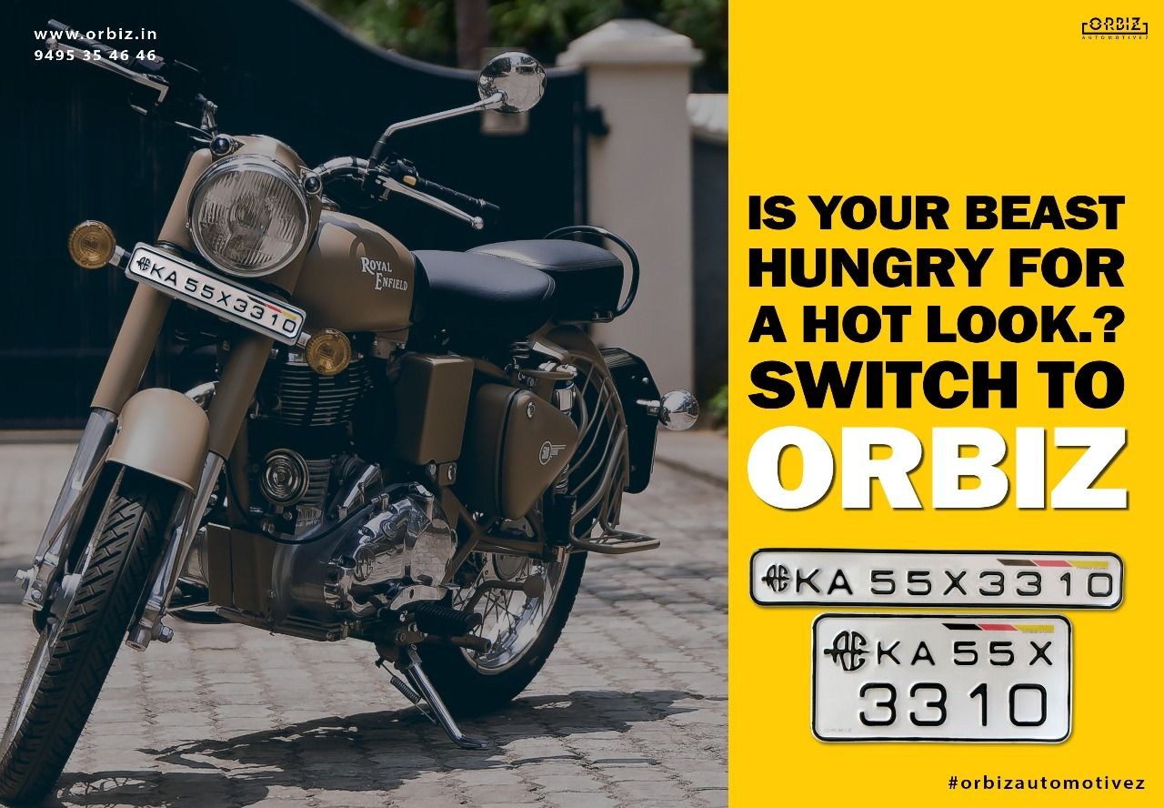 Orbiz Royal Enfield Special Series Number Plates Are Hot And When
