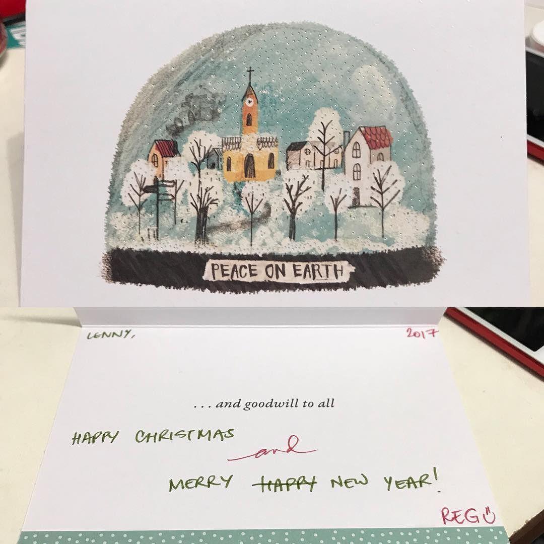 Thanks For The Late Christmas Card Fragileheart I Like The Nice