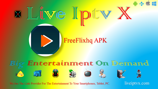 Live Iptv X Movie App Tv App Live Channels
