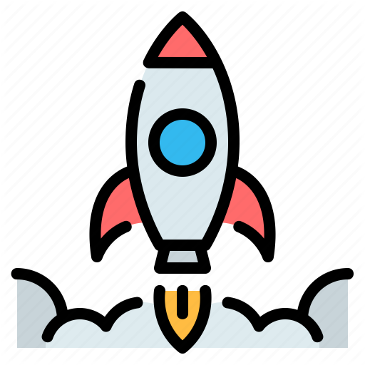 Business Launch Rocket Rocket Ship Space Space Ship Startup Icon Download On Iconfinder Space Icons Rocket Ship Rocket