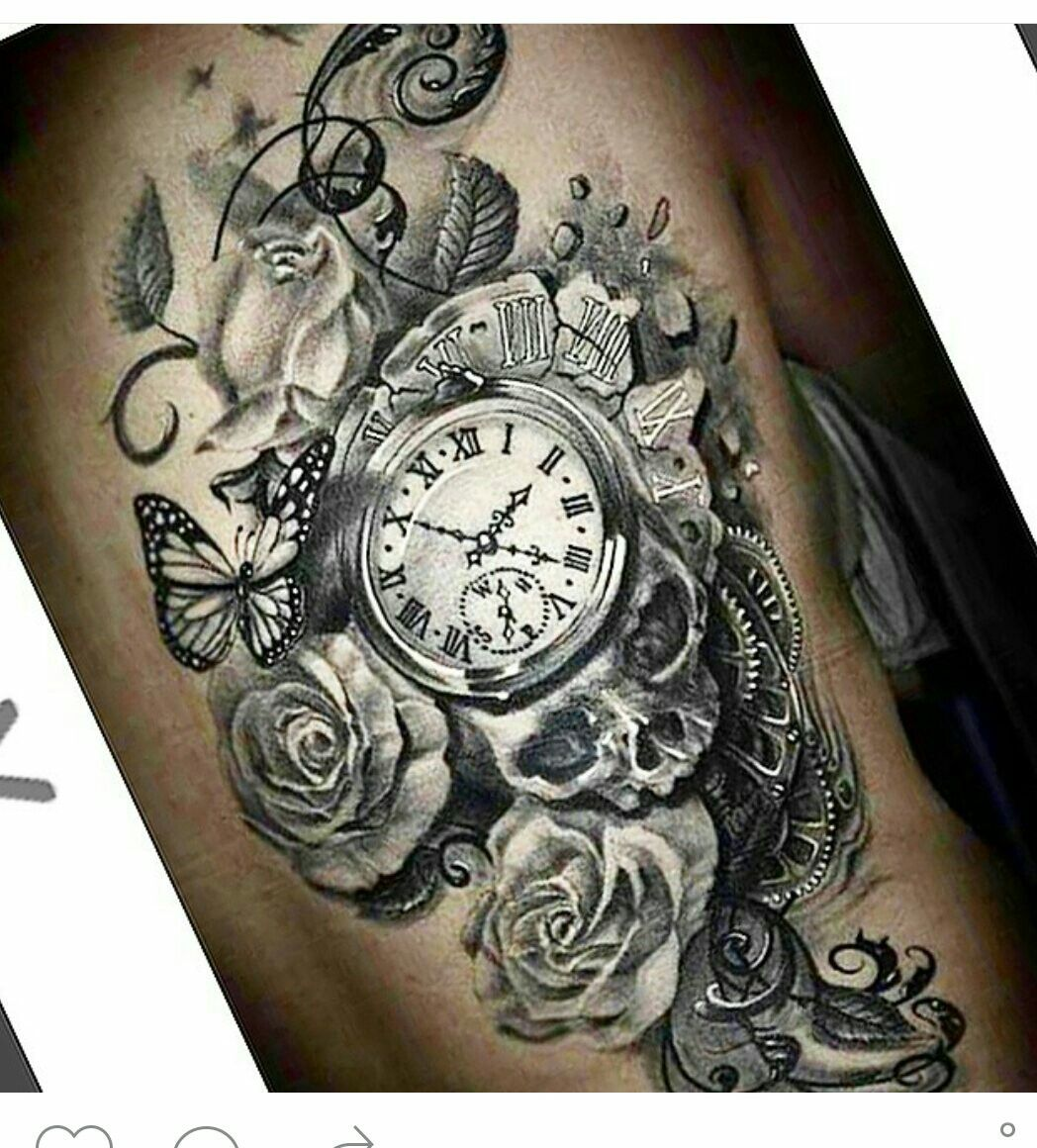 Gonna get this tattoo ideas i love pinterest - Montre a gousset tattoo ...