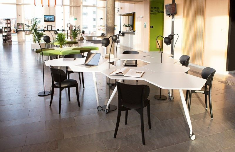 Trixagon table training tables office furniture kinnarps