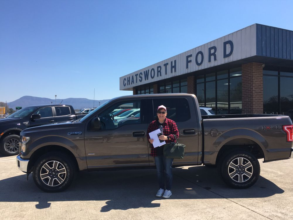 congrats christina panter of chatsworth ga on your new 2017 ford 150 sold by dustin patrick and happy anniversary chatsworth ford news ford pinterest
