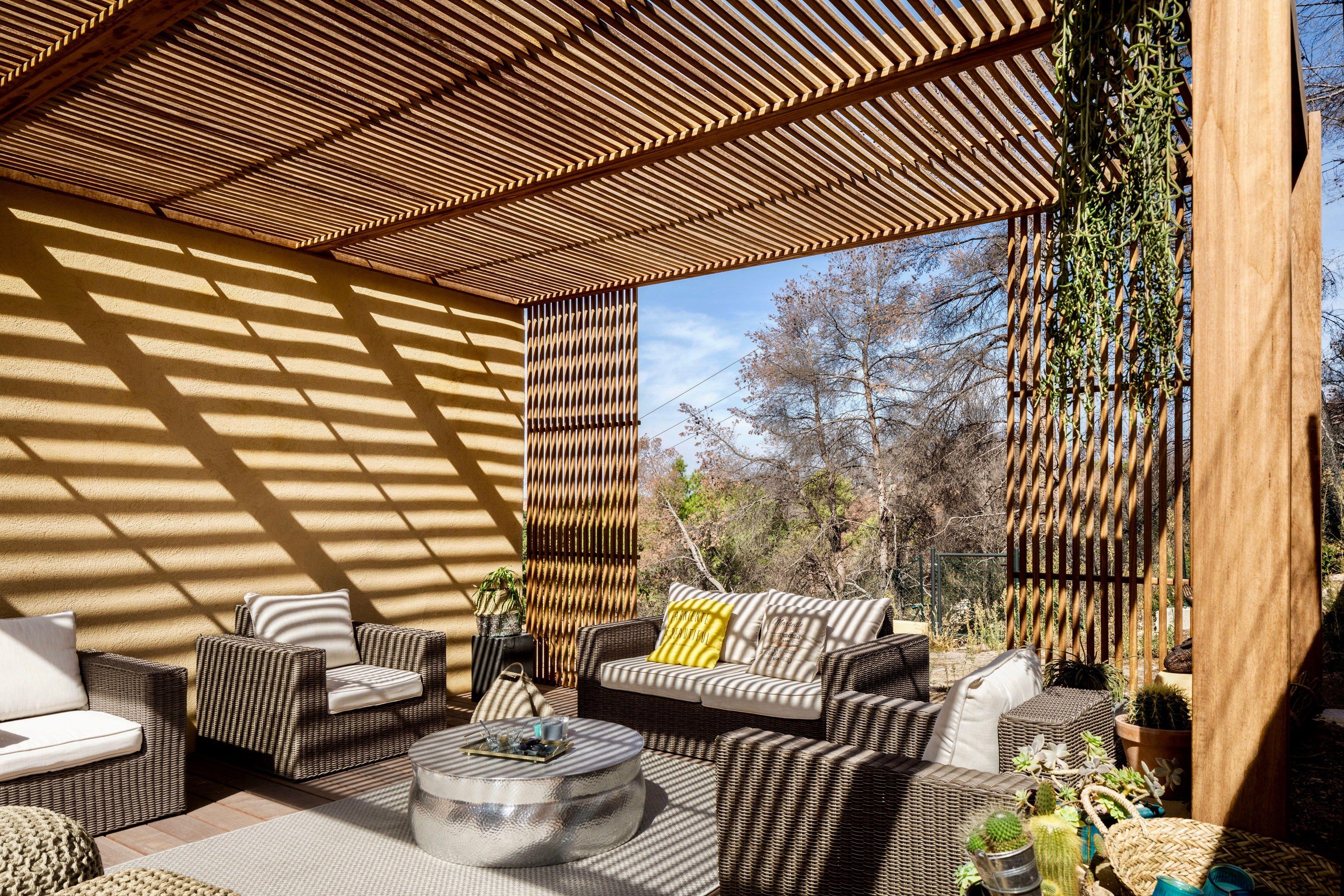 26++ Tonnelle de jardin bois exotique ideas in 2021