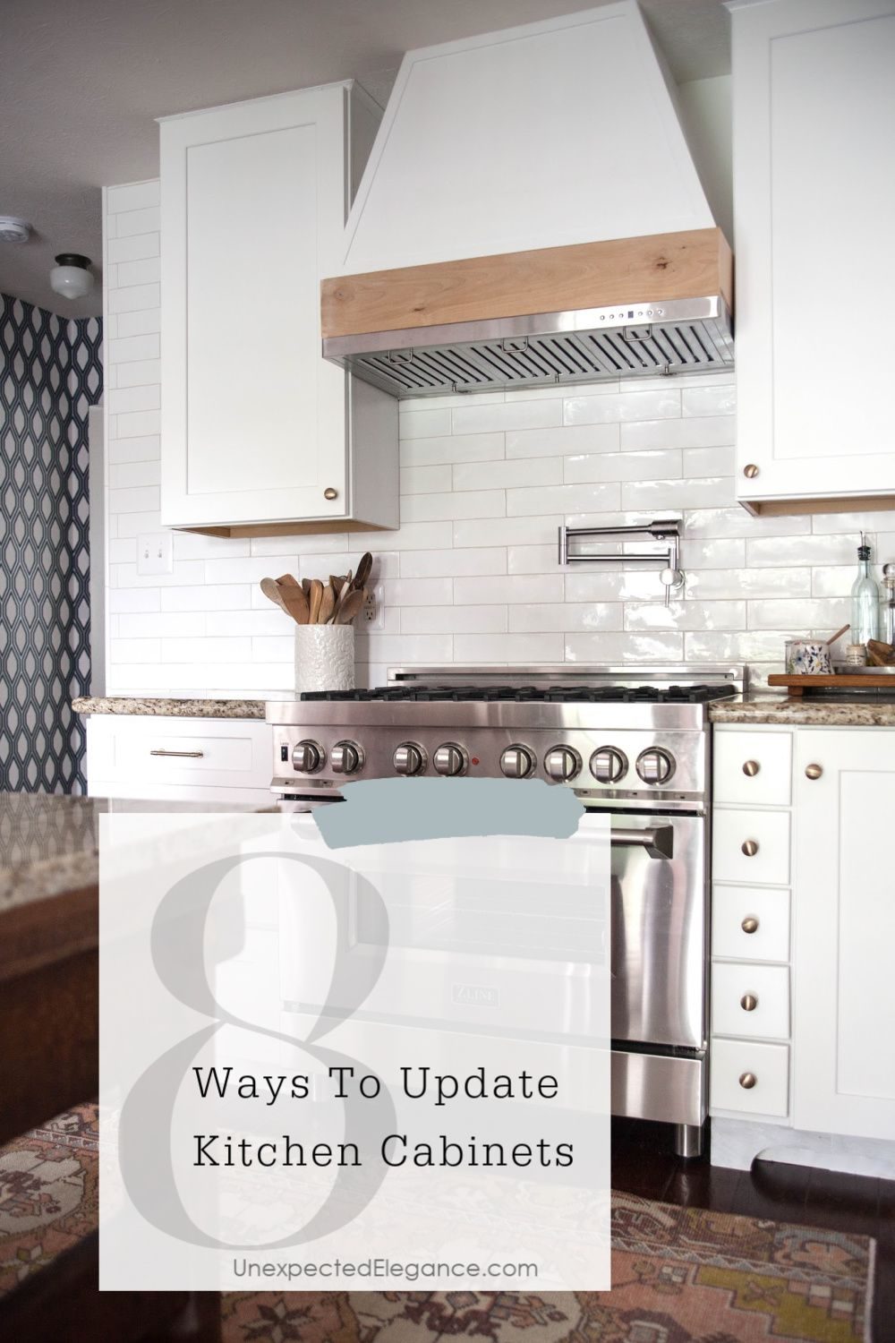 8 Ways To Update Kitchen Cabinets In 2020 Kitchen Cabinets Kitchen Cupboard Doors Update Kitchen Cabinets
