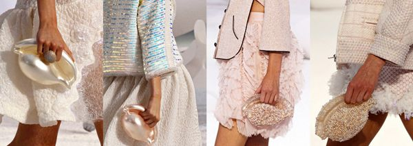 """""""Would you shell out for Chanel's new clutch?""""  Outrageously expensive, but decidedly eye-catching!  And shell-shaped....did I mention shell-shaped?  :-)"""