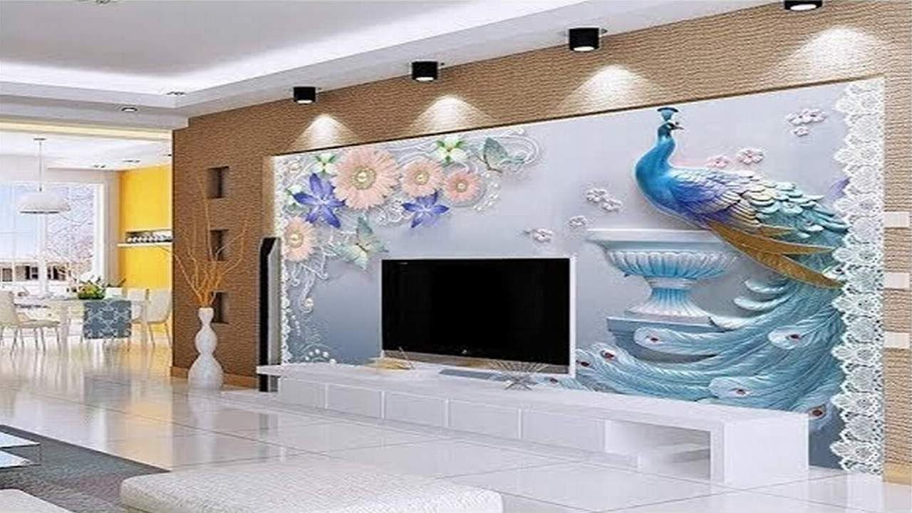Latest 13D Wallpaper For Bedroom Living Room - Expensive World