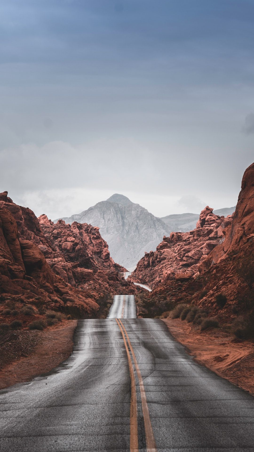 Road Mountain Nature And Outdoors Hd Photo By Steven Ha Stevenhah On Unsplash Iphone Wallpaper Usa Road Trip Usa Nevada Travel