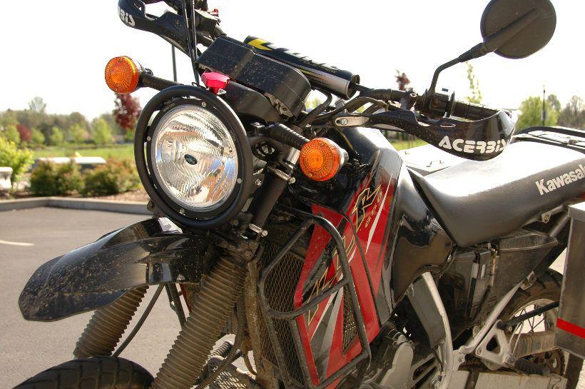 """Trail Tech 8 """"Wyścig światła HID Klr 650, Klr 650"""