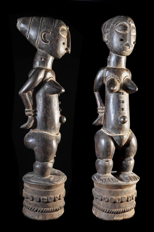 Statue Jugement de Reine - Attie - Cote Ivoire - Statues - ethnie Attie - Le peuple Attié