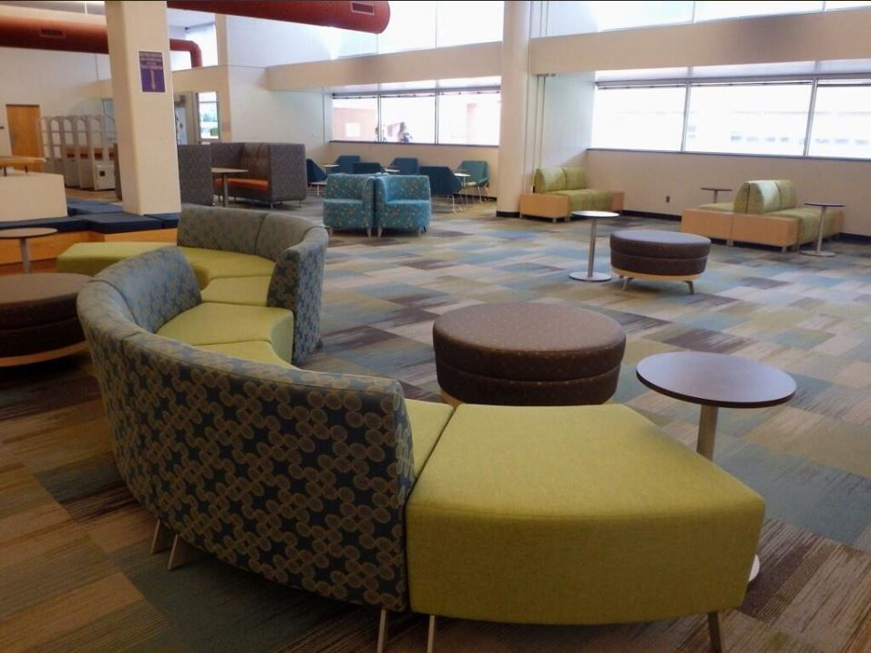 Wcu Campus In The Hunter Library Educationdesign Workplacedesign