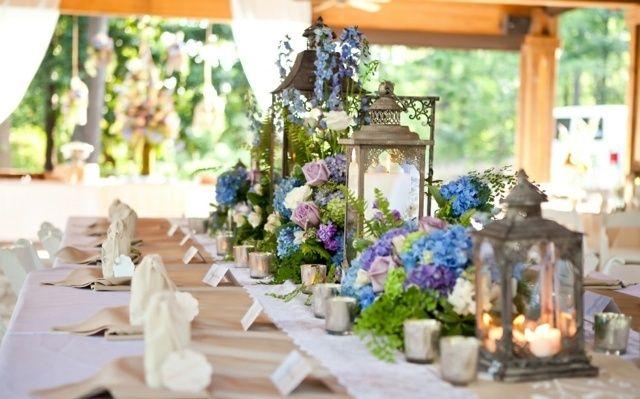 vintage Laternen Metall Glas Kerzen Tischdeko Blumen Hochzeit  HochzeitsDeko Ideen in 2019