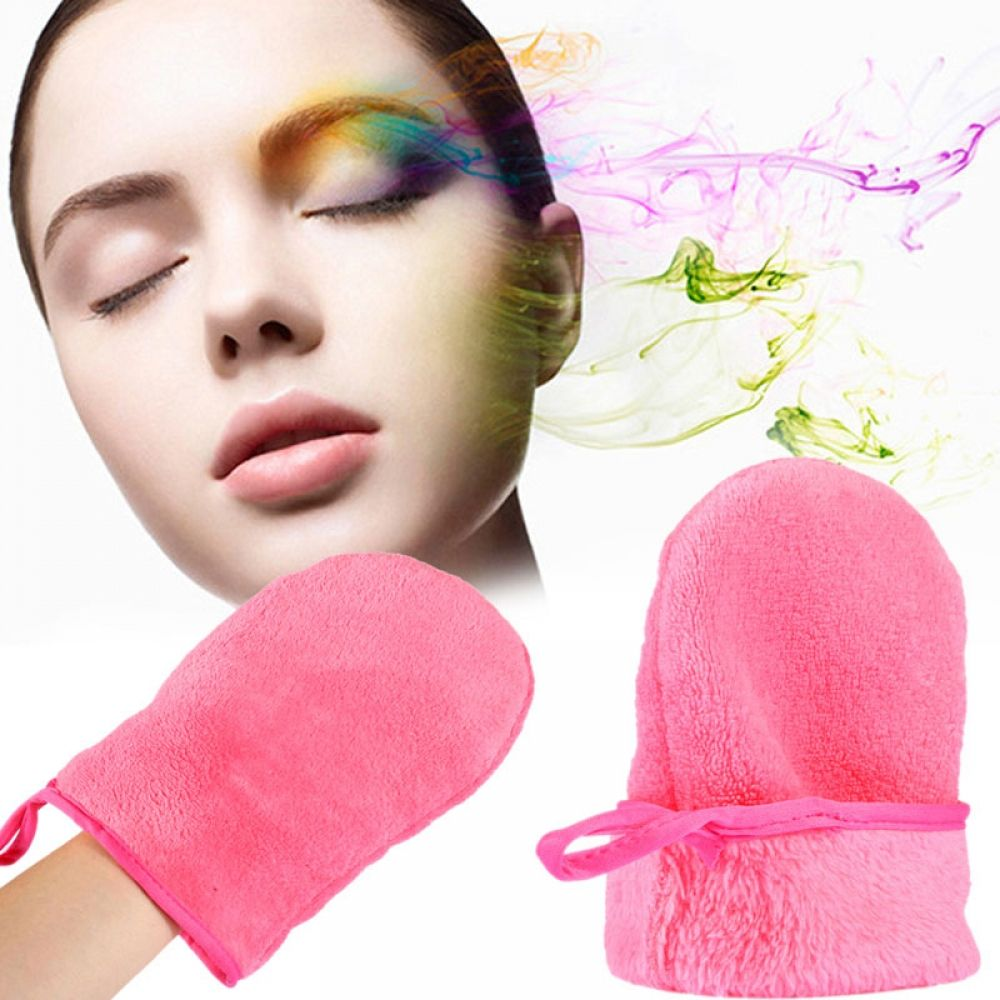 2018 New Soft Makeup Remove Glove Portable To Carry Makeup