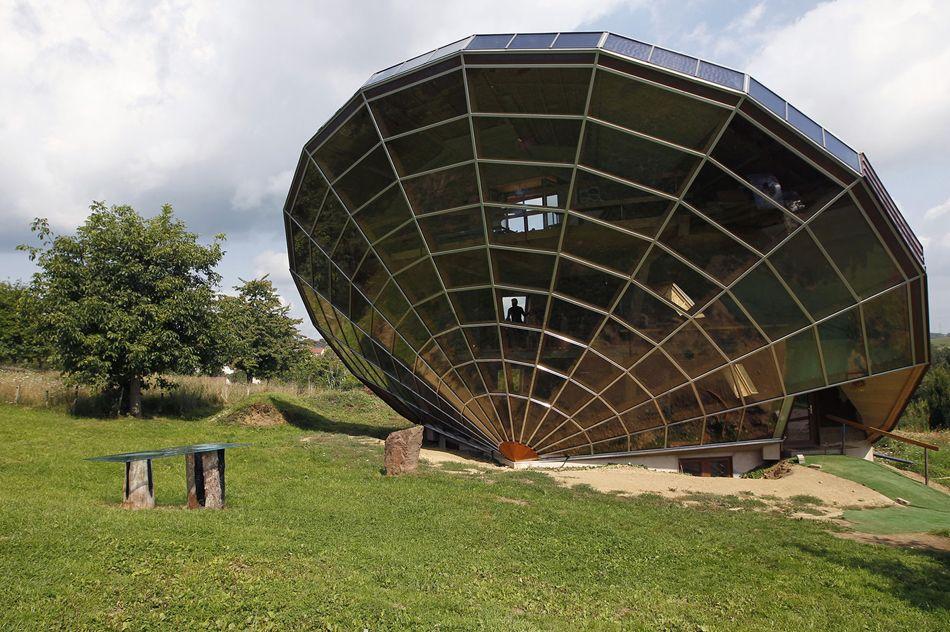 Maison originale \u2013 des architectures créatives et uniques dans le - qu est ce qu une maison bioclimatique
