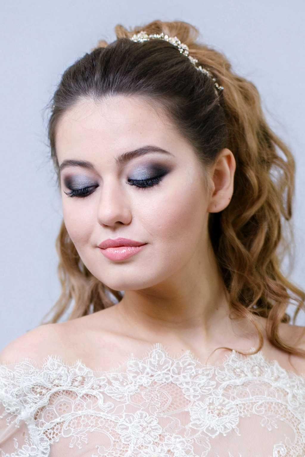 Bridal Smokey Eye Makeup Round Face Makeup Round Face Haircuts Bridal Smokey Eye Makeup