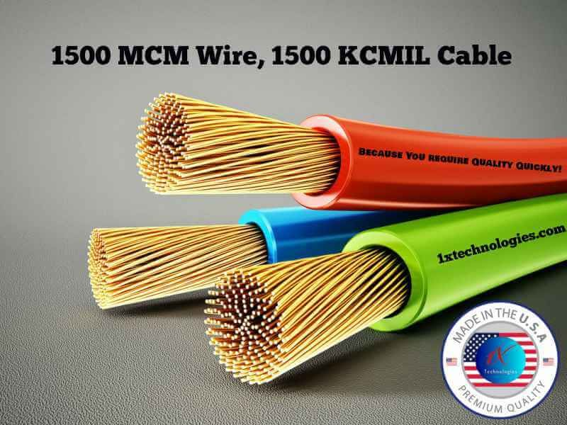 1500 Mcm Cable Price 1500 Kcmil Cable Pricing Data Specification Wire Cable Mcm
