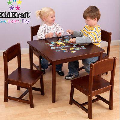 35+ Kidkraft farmhouse table chair set best