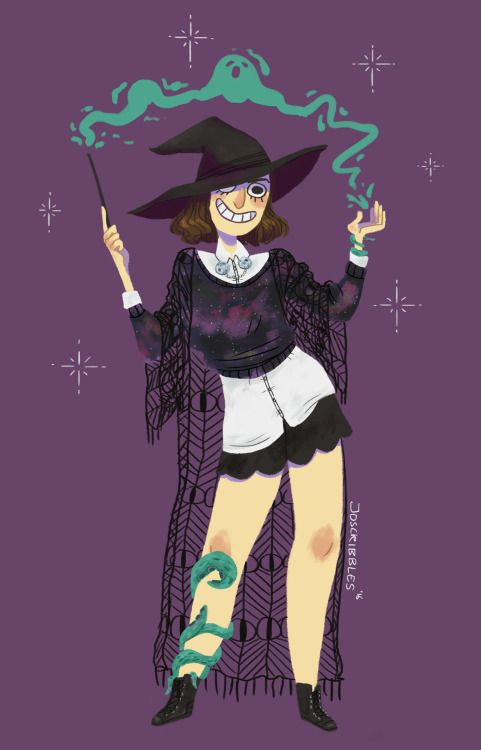 this year's witchsona! im like 90% legim a leg witch