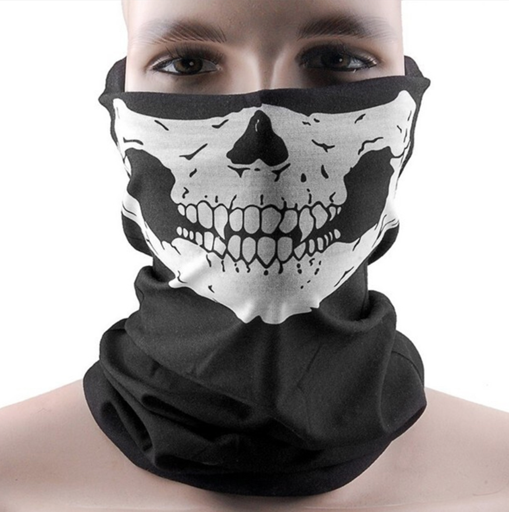 d7ffce42e Ghost Duster Skull Mask | My Style | Biker mask, Skull face mask ...