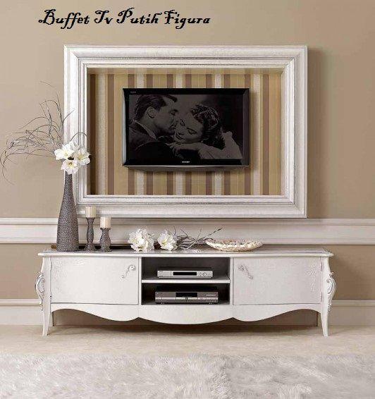 Buffet Tv Putih Figura Jual Buffet Tv Putih Figura Harga Buffet Tv - Buffet tv