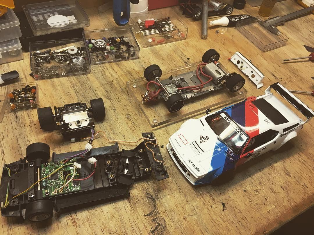 medium resolution of scaleauto chassis and carrera 124 body perfect molettaring slotcar slotcars slotracing carreraslotcars scaleauto bmw