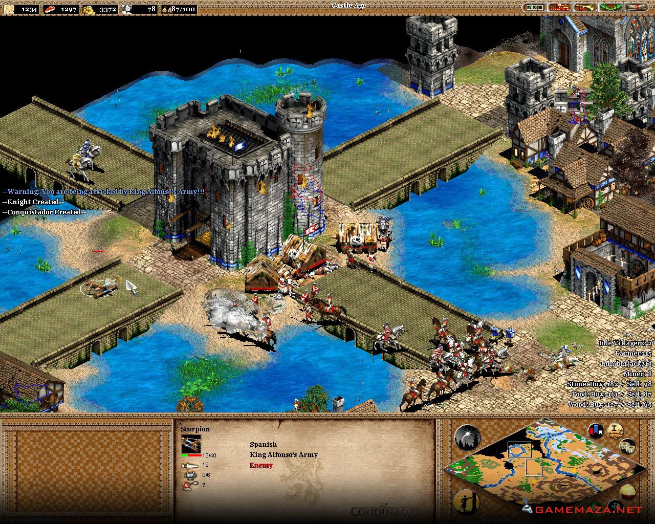 Age Of Empires Ii The Conquerors Gameplay Screenshot 3 Age Of