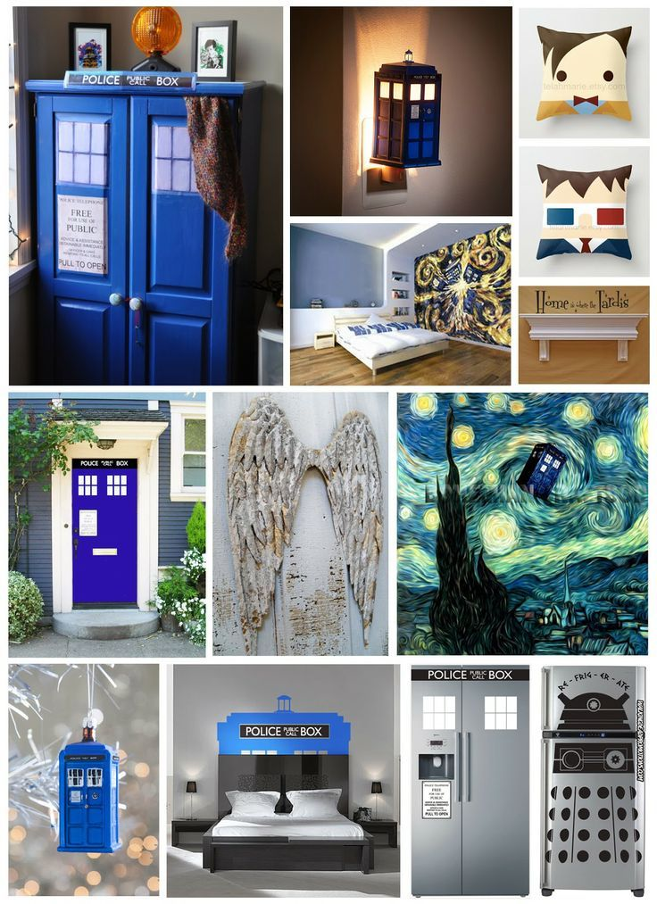 dr who bedroom ideas. Doctor Who Decor  Pinterest