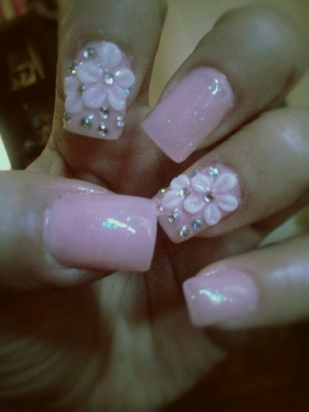 Pin By Mayra On My Own Nail Creations Flower Nails Flower Nail Designs Nail Designs