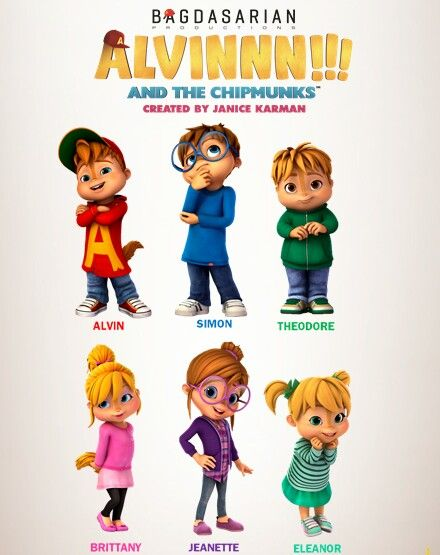 Alvinnn And The Chipmunks 2015 Chipmunks Alvin And The