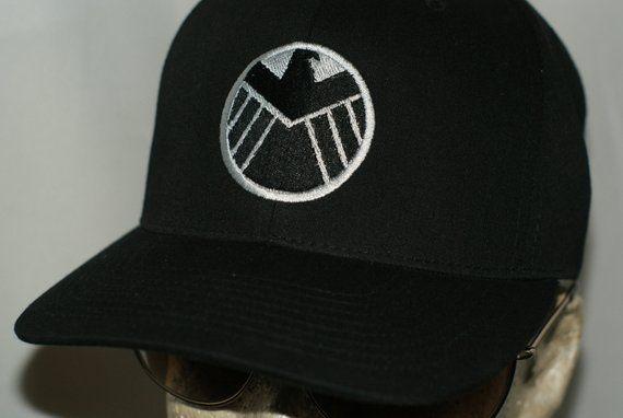 6546ad4110306 Agents Of SHIELD Hat TV Show Cap Tony Stark Industries Avengers Thanos Thor  2 Marvel Infinity Gauntl