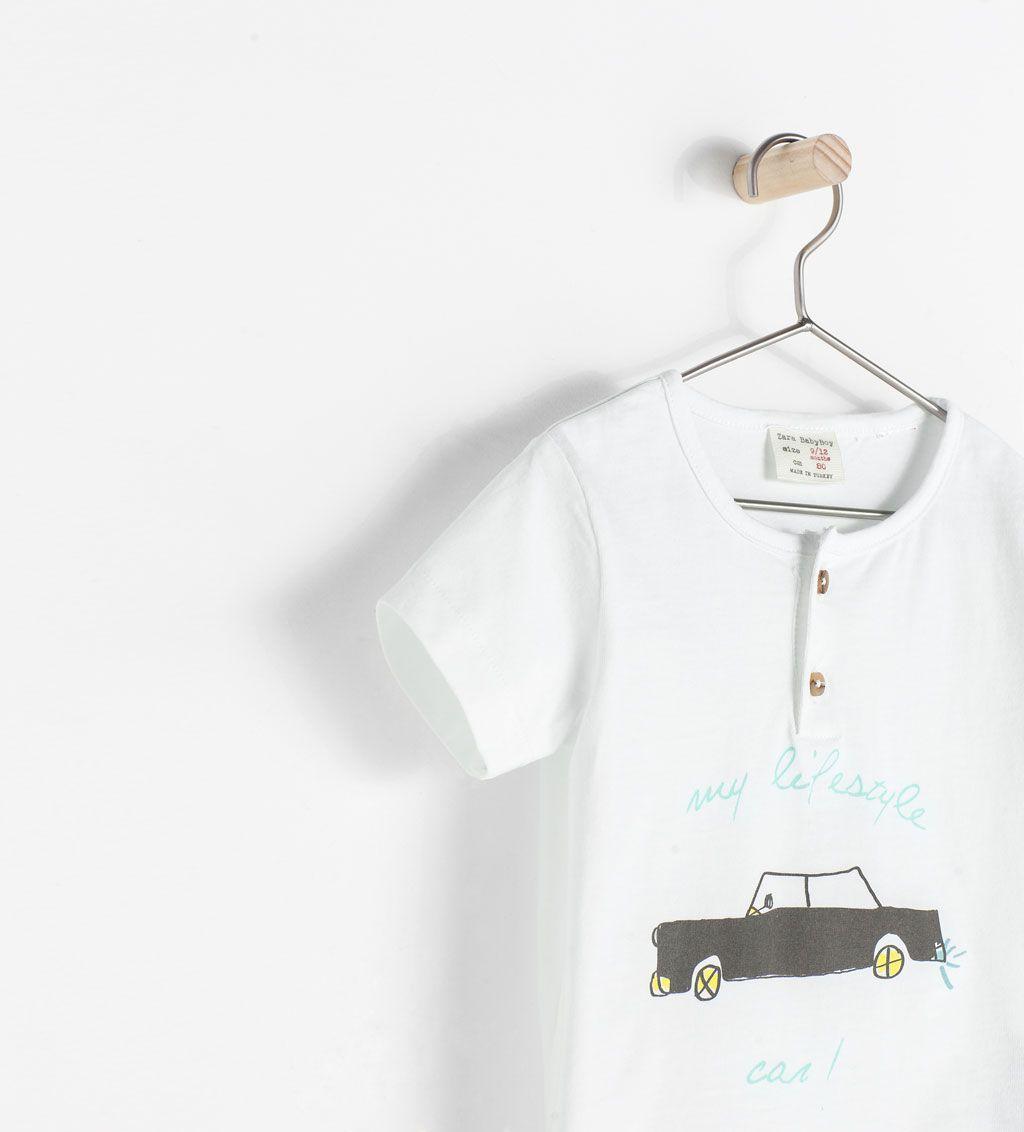CAR PRINT T-SHIRT from Zara