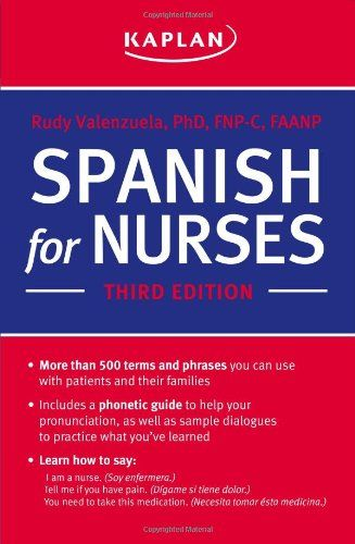 10 Phrases Every Nurse Should Know in Spanish Spanish, School and - resume for nursing school