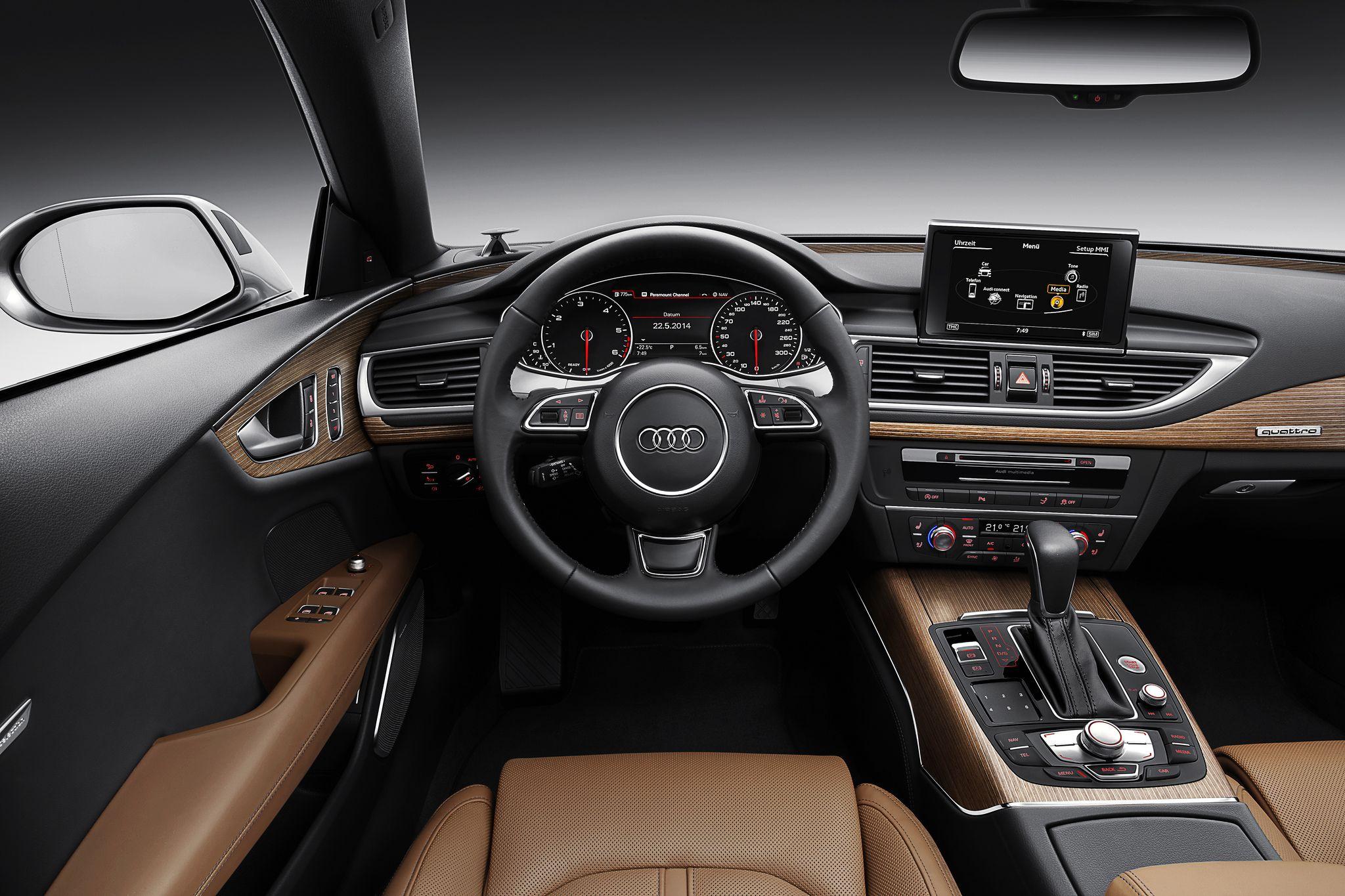 Audi A7 Sportback Cockpit Audi A7 Sportback Audi A7 Audi A7 Interior