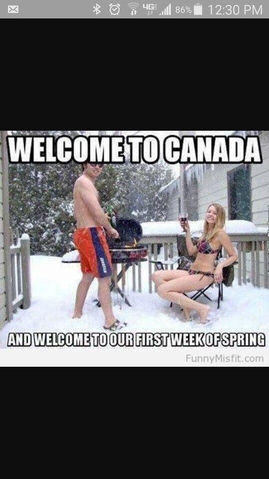 Spring in Canada meme   Canada   Wrestling, Canada, Sports