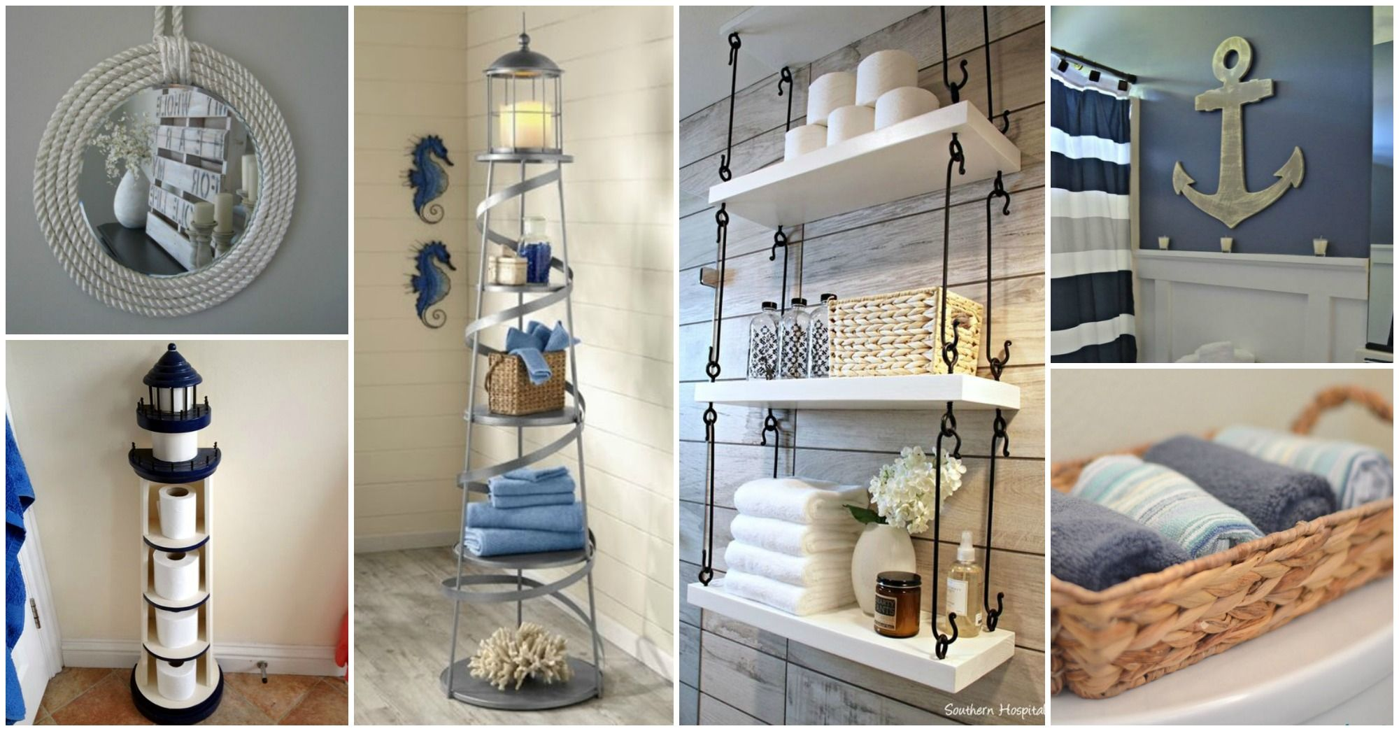 Nautical Bathroom Decor That Will