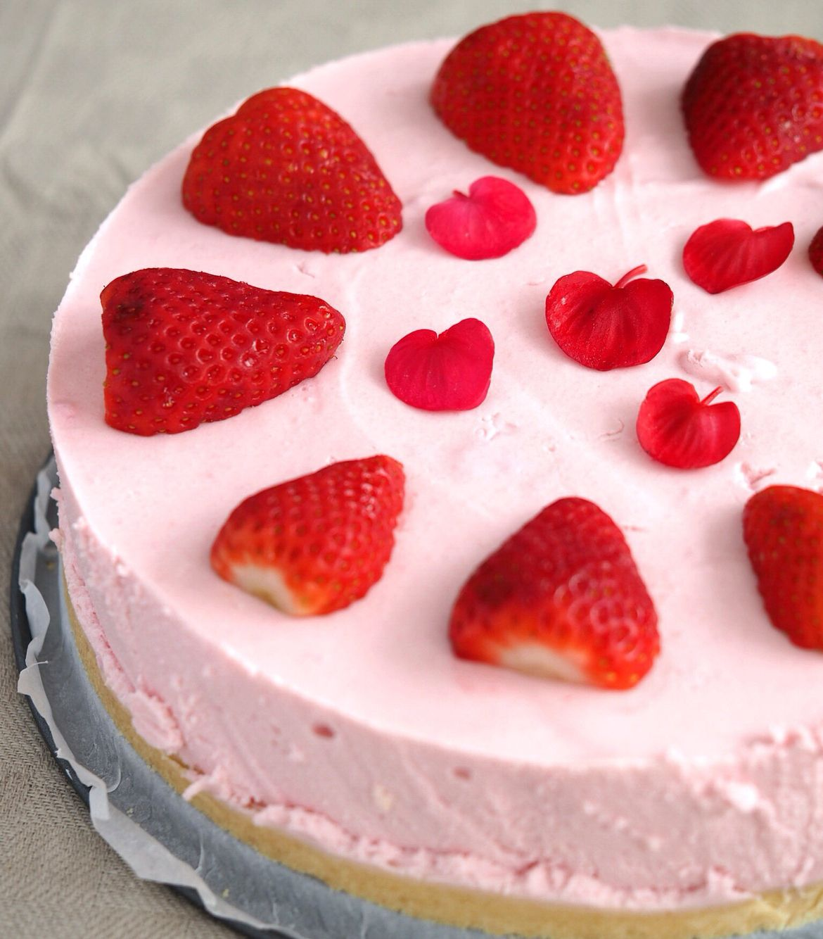 Strawberry Cheesecake  ~ Food Photography By Boel Of Photos