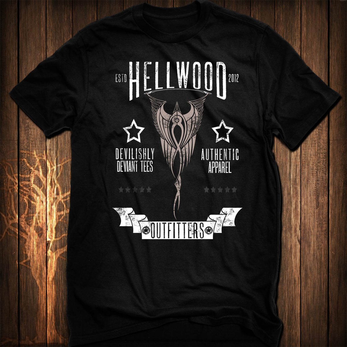 Authentic Hellwood Brand T-Shirt