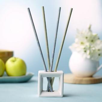 Smartscents By Partylite White Ceramic Square Holder
