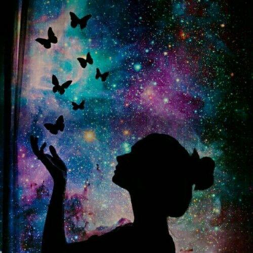 Butterfly Spray Paint Art