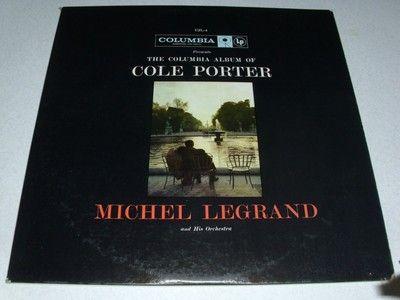 The Columbia Album of Cole Porter Michel Legrand Vinyl Record **Free Ship in US*