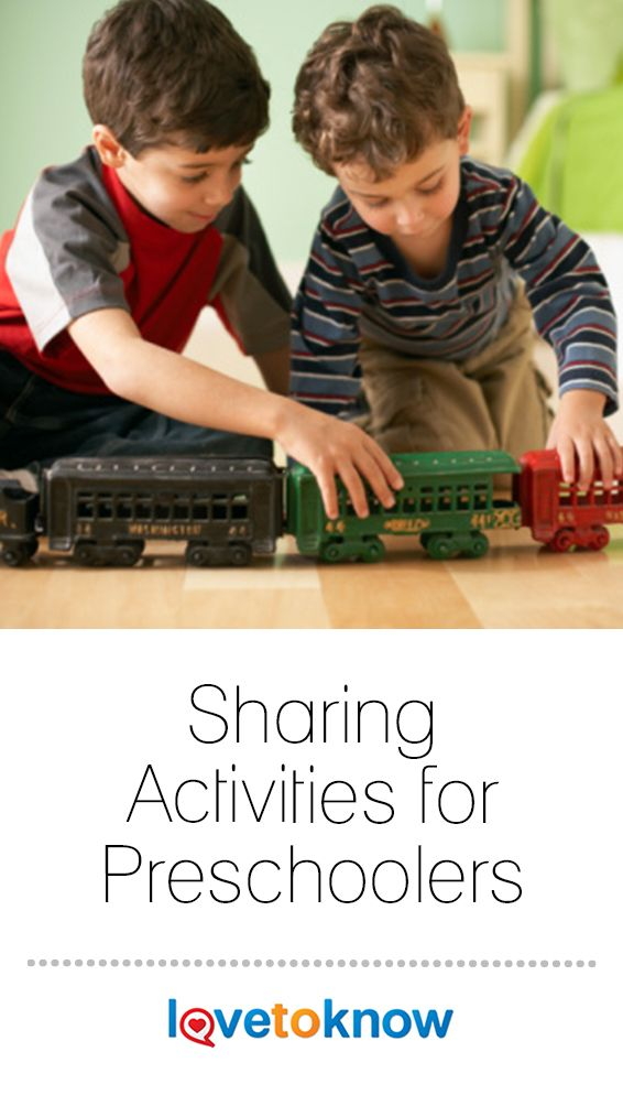 Preschool Activities That Encourage Sharing | Preschool ...