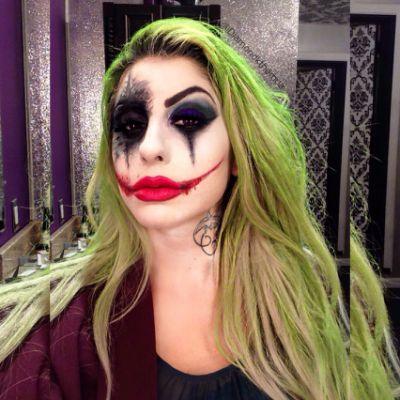 Best 25 Female Joker Makeup Ideas Halloween Costumes In