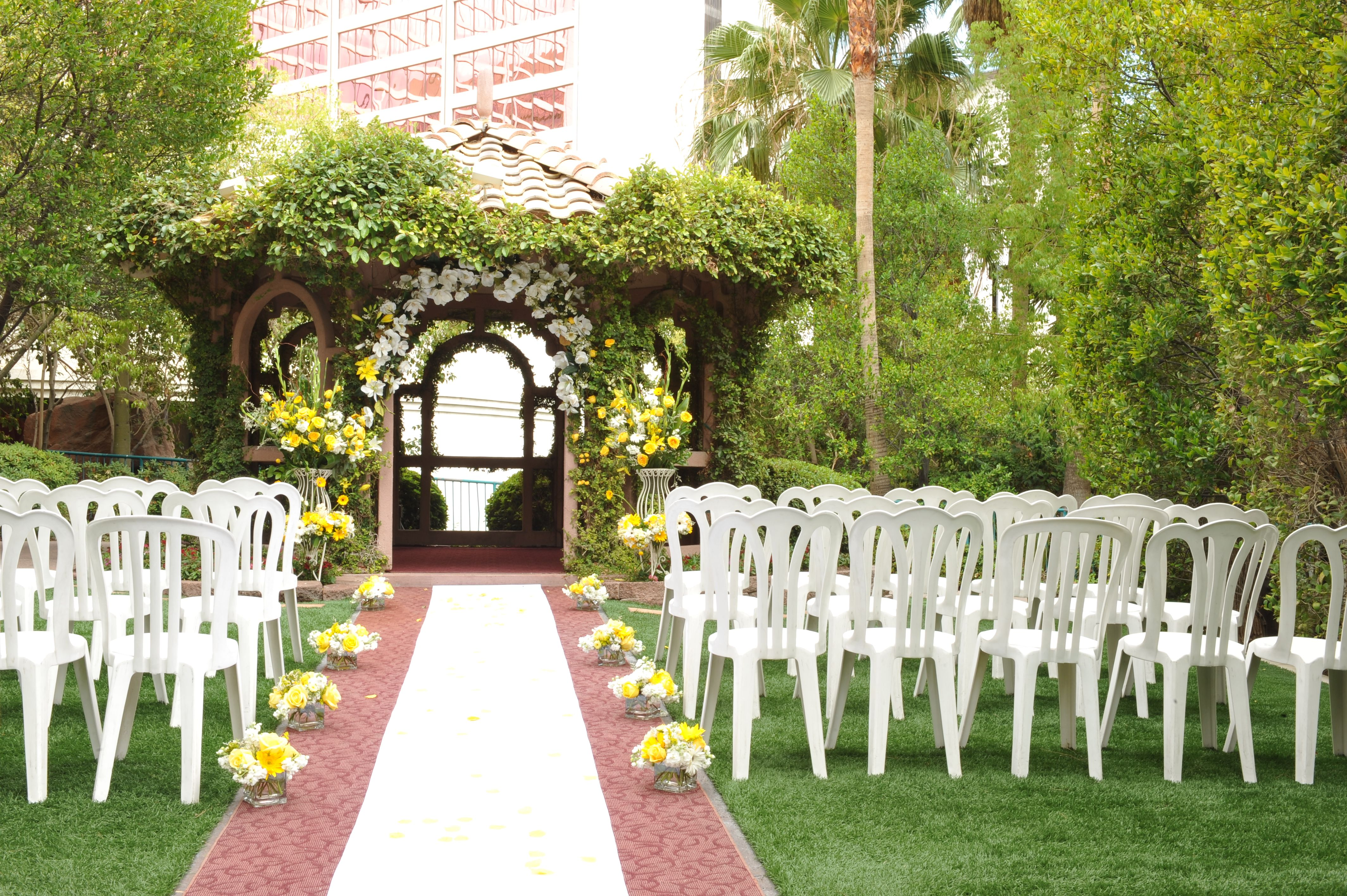 The Gazebo Wedding Chapel At Flamingo Las Vegas